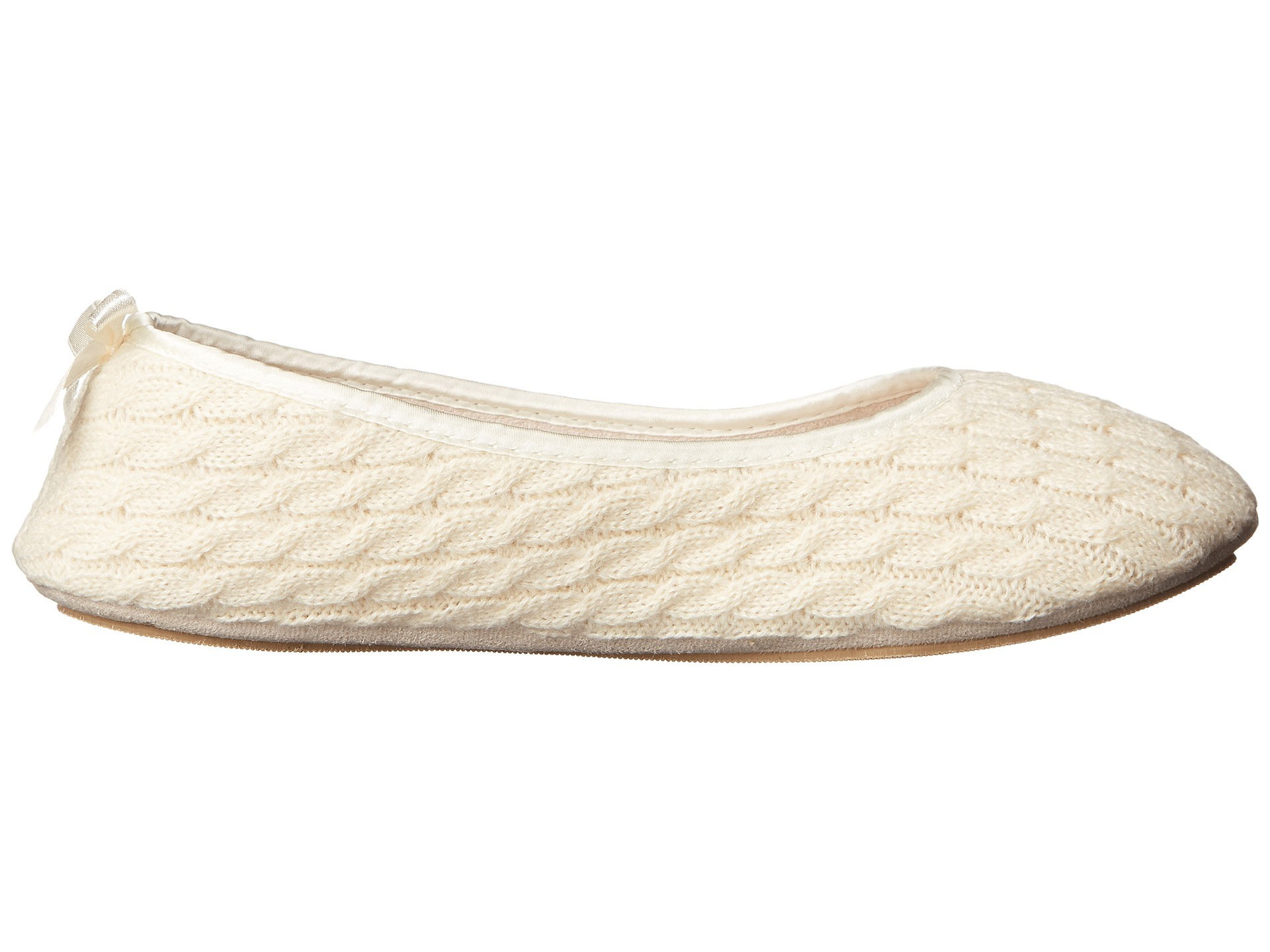 Lady′s Home Slipper Cable Knit Cozy Slipper