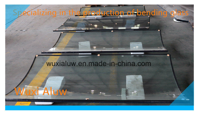 Insulated Curved Glass for Building