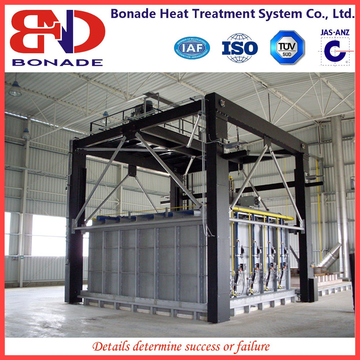 Bell Gas-Fired Furnace for Quenching