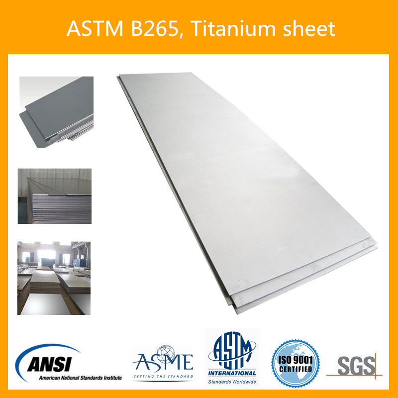 Bright Pickled Grade 12 Gr. 12 Titanium Sheet Plate for Industrial