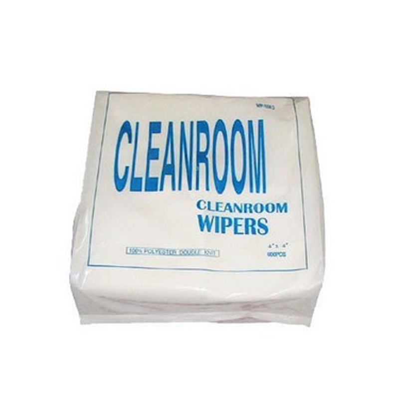 "Cleanroom Ployester Wiper 4""*4"" for Cleanroom Assembling Line"