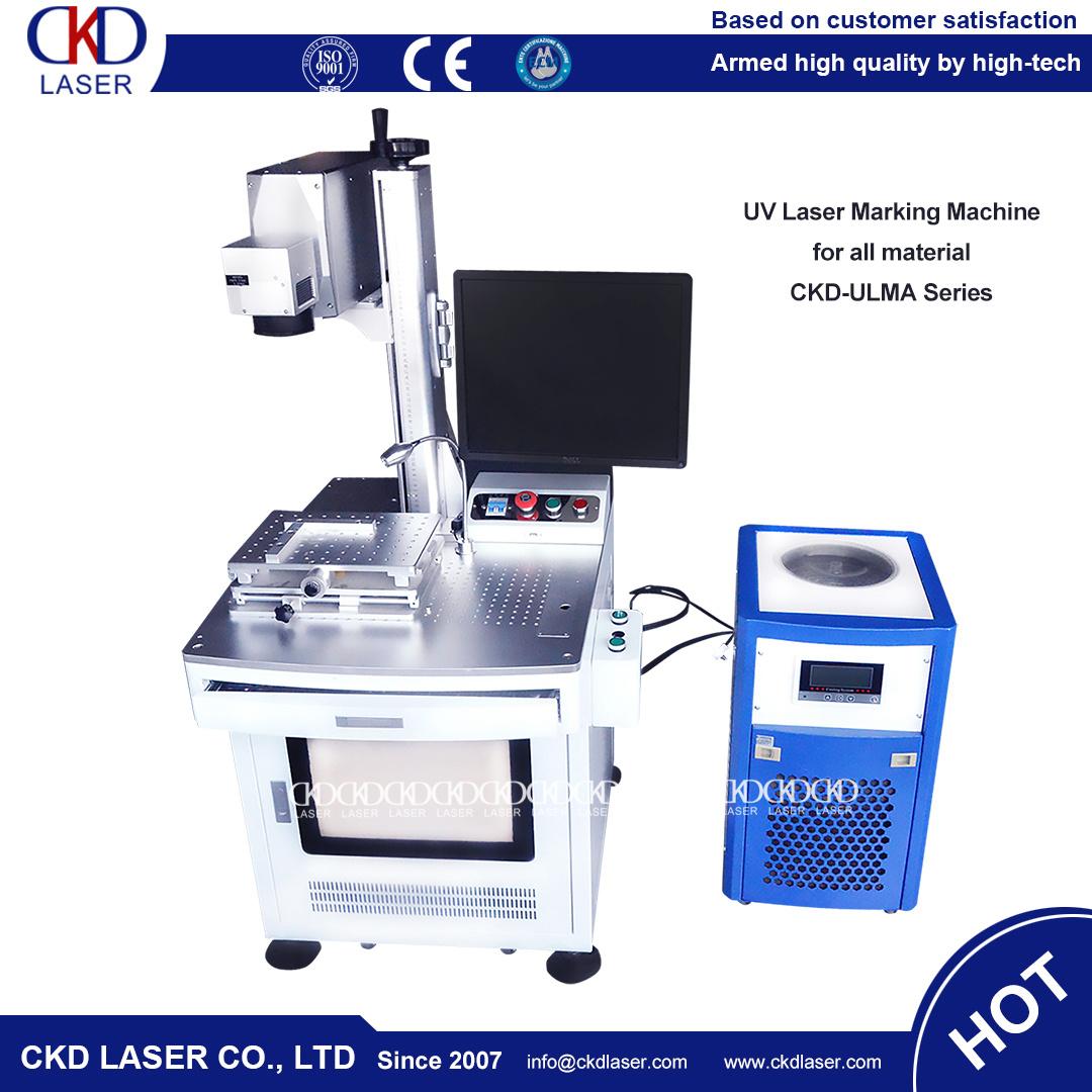 High Precision UV Laser Marker Engraving Machine on Glass Stone