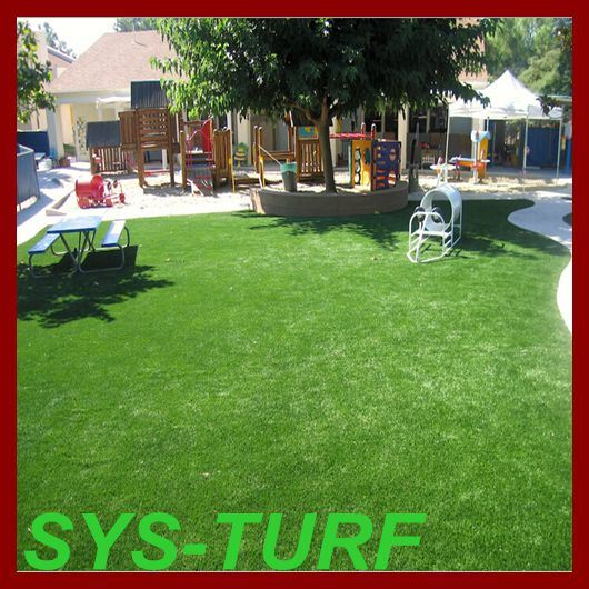 North America Popular W-Shape Blade Synthetic Turf