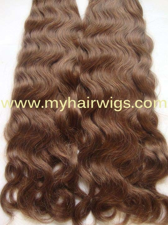 Brazilian Hair French Wavy Brown Color (BHHW-28) - China Brazilian ...