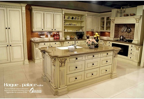 Solid wood kitchen cabinets hp kc1 china kitchen cabinet solid