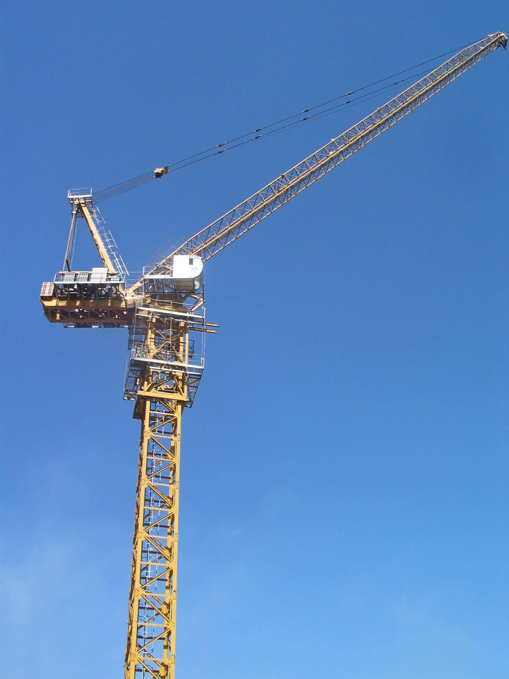 Tower Crane Productivity : China mobile tower crane qtz