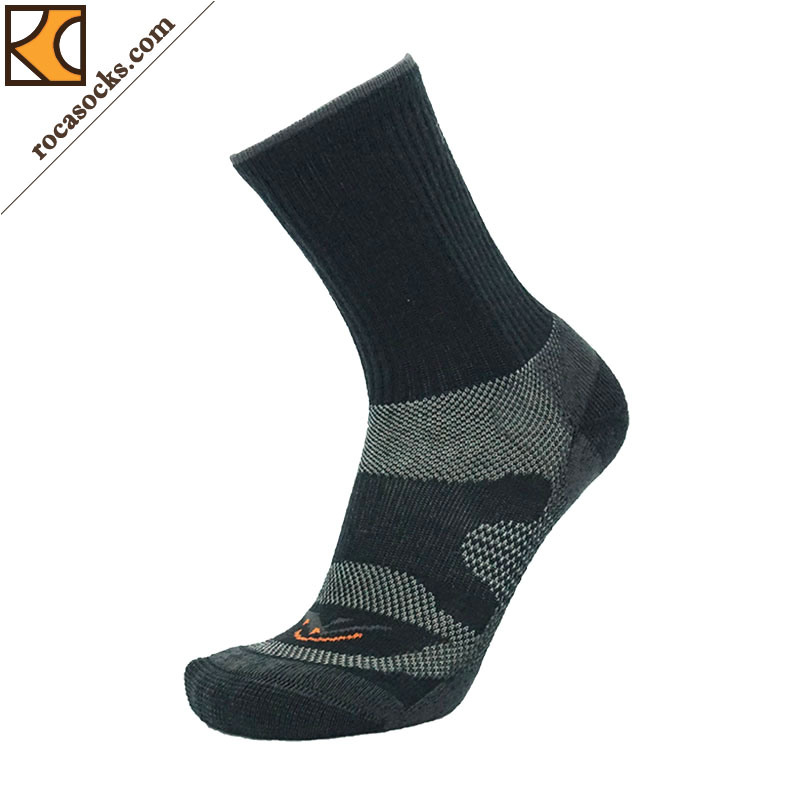 Men′s Outdoor Merino Wool Crew Socks (162022SK)