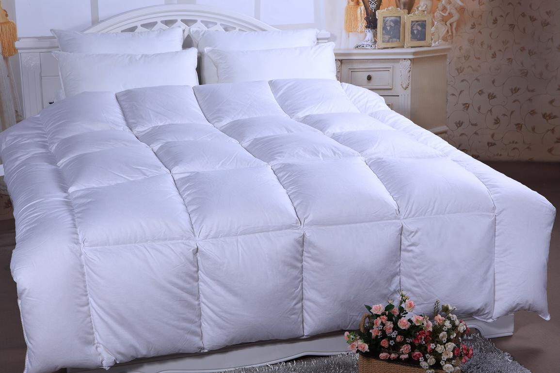 China 2014hot Design Down Duvet 300t 100 Cotton 70