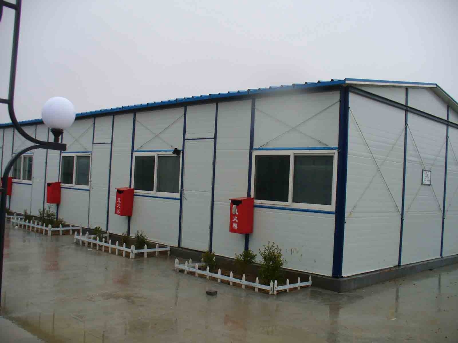 China galvanized steel house 3 photos pictures made in for Prefab steel house