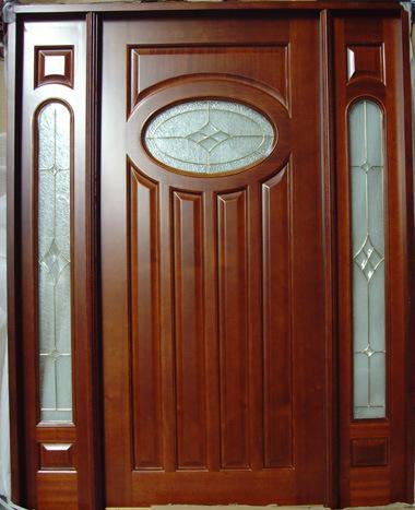 prehung wood exterior doors