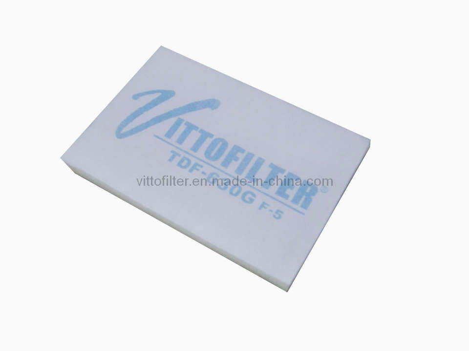 Ceiling Filter with Net (VDF-630G) Cut to Fit Air Filter Medium Filter Roof Filter