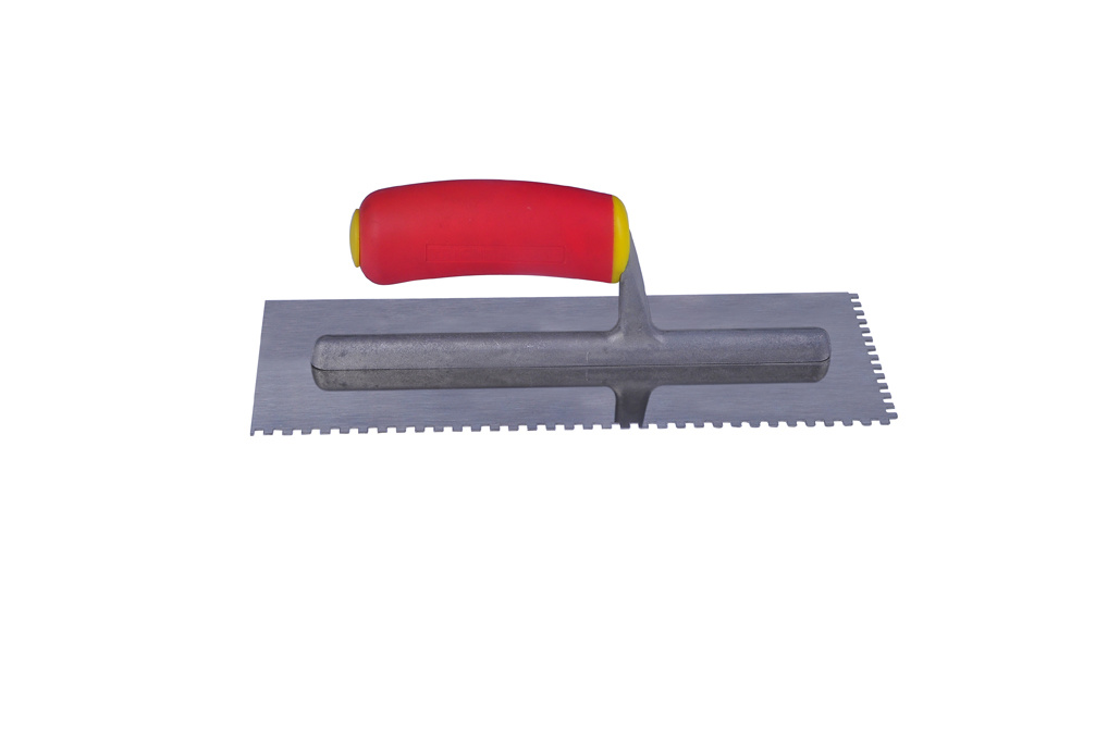 Finish Trowel, Stainless Steel Trowel, Carbon Steel Trowel, Plaster Trowel, Notched Trowel (TF067)