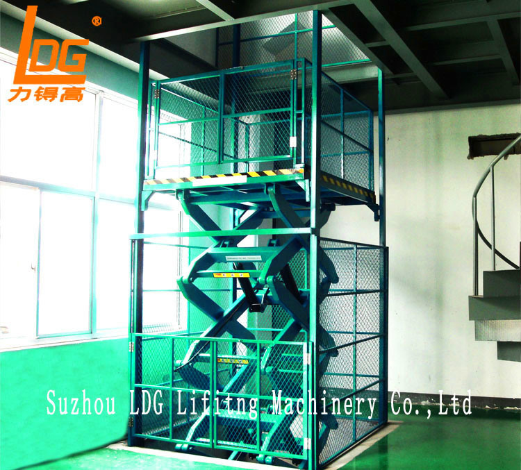 Warehouse Hydraulic Scissor Lifting Equipment (SJG2-9.5)