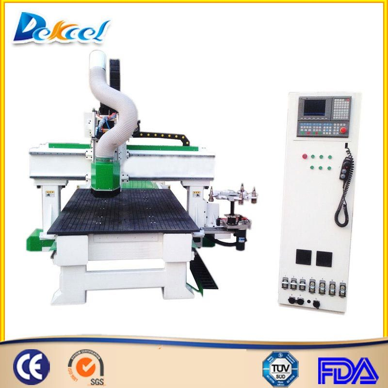 High Quality Fast Speed Wood CNC Engraving Cutting Machine for Sale Dek-1325c