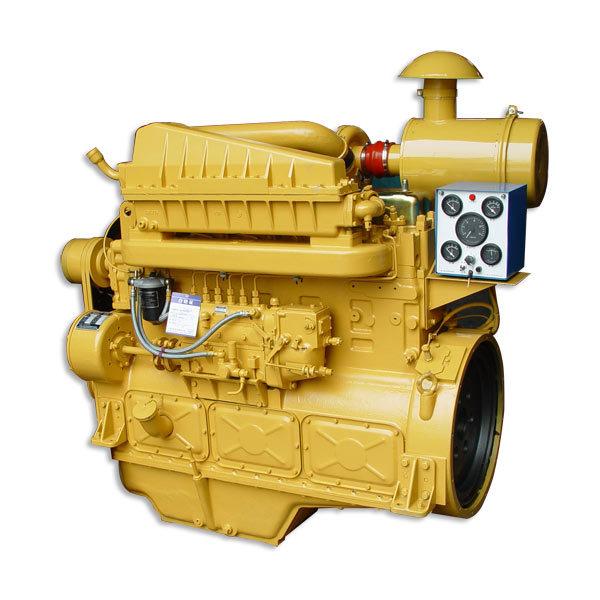 (G128ZLD G128ZLDII) 6 Cylinder Shanghai Dongfeng Diesel Engine for Generator Sets