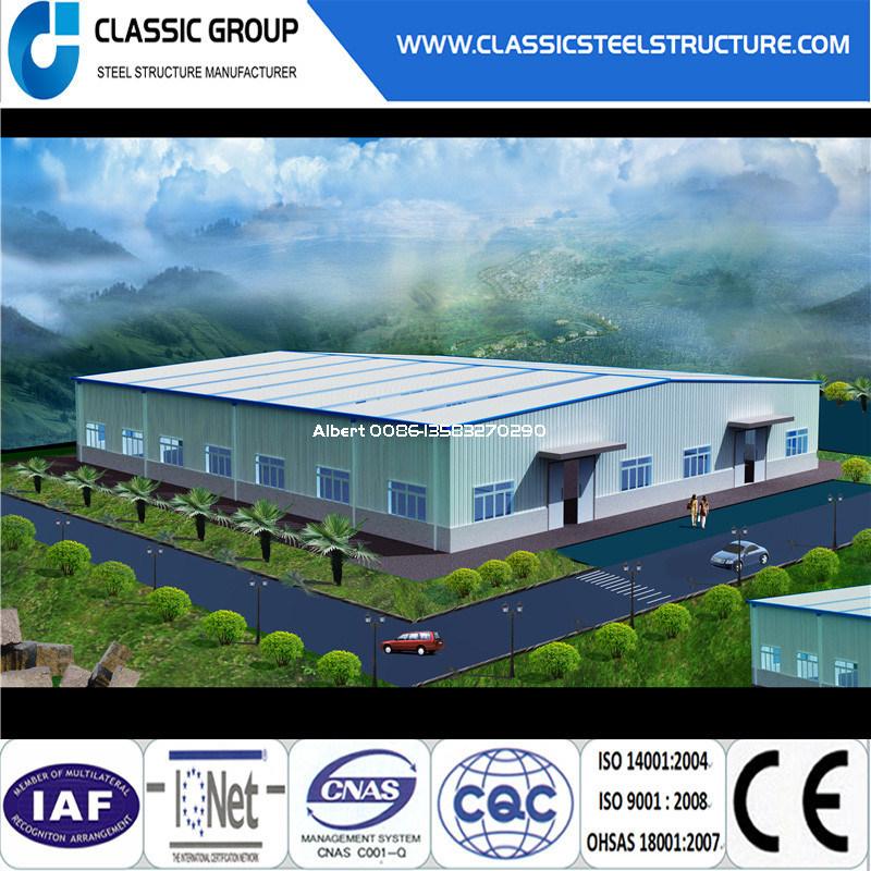 Hot-Selling Industrial Steel Structure Warehouse/Workshop/Hangar/Factory 2016