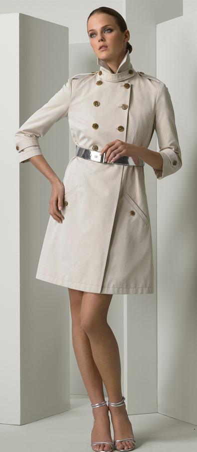 White Dress Coat - Coat Nj