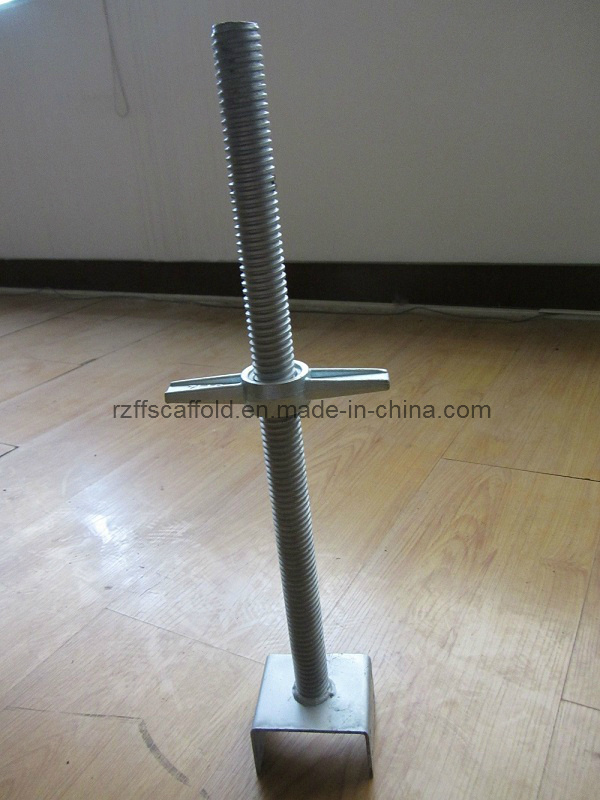 Scaffolding Base Jack and U Head with Jack Nut (FF-B005C)