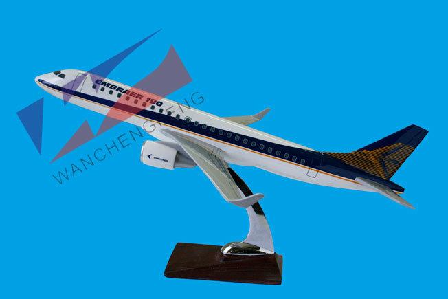 Emb190 Polyresin Plane Modelfor Display