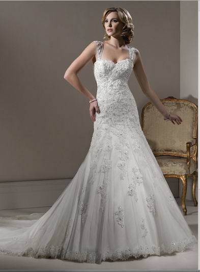 lace wedding dress 2011. 2011 Mermaid Lace Wedding Gown