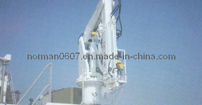10t Working Loading Marine Knuckle Boom Crane