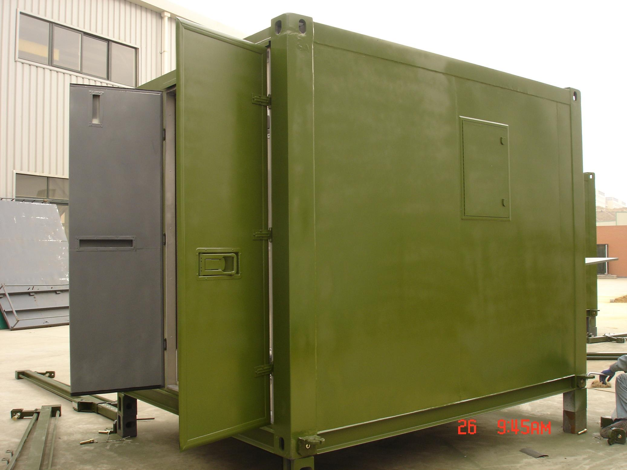 FRP Military Container