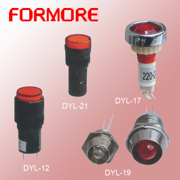 Different Types of Indicator Lamp /Pilot Lamp