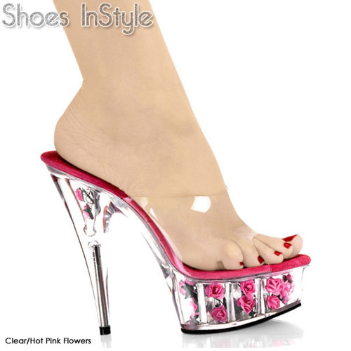 China Sandals (6308P-HP) - China Sexy Shoe, Dancer Shoe