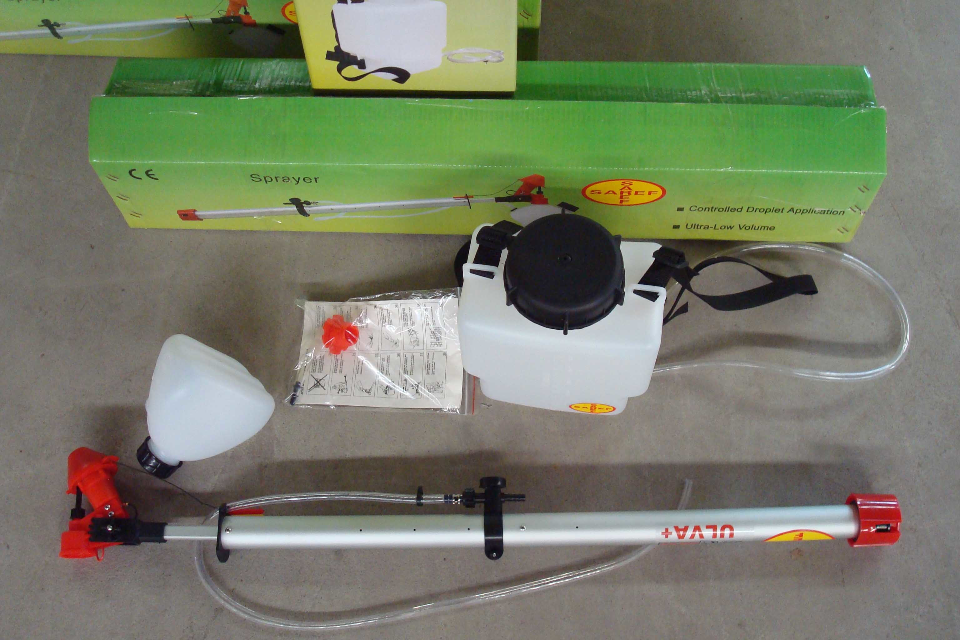 Ulva+ Spinning Disc Sprayer, Ulv Droplet Application Chemical Save Less Use Sprayer