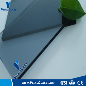 Blue Grey Float Glass with CE&ISO9001 (G-F)