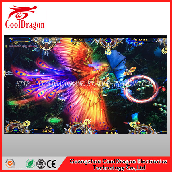 2017 New Bird Shooting Game Baii Man Arcade Game Machine Original Board for Sale