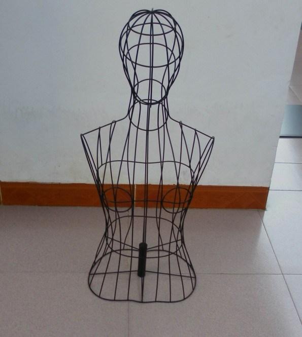 Как сделать манекен из проволоки своими руками 4