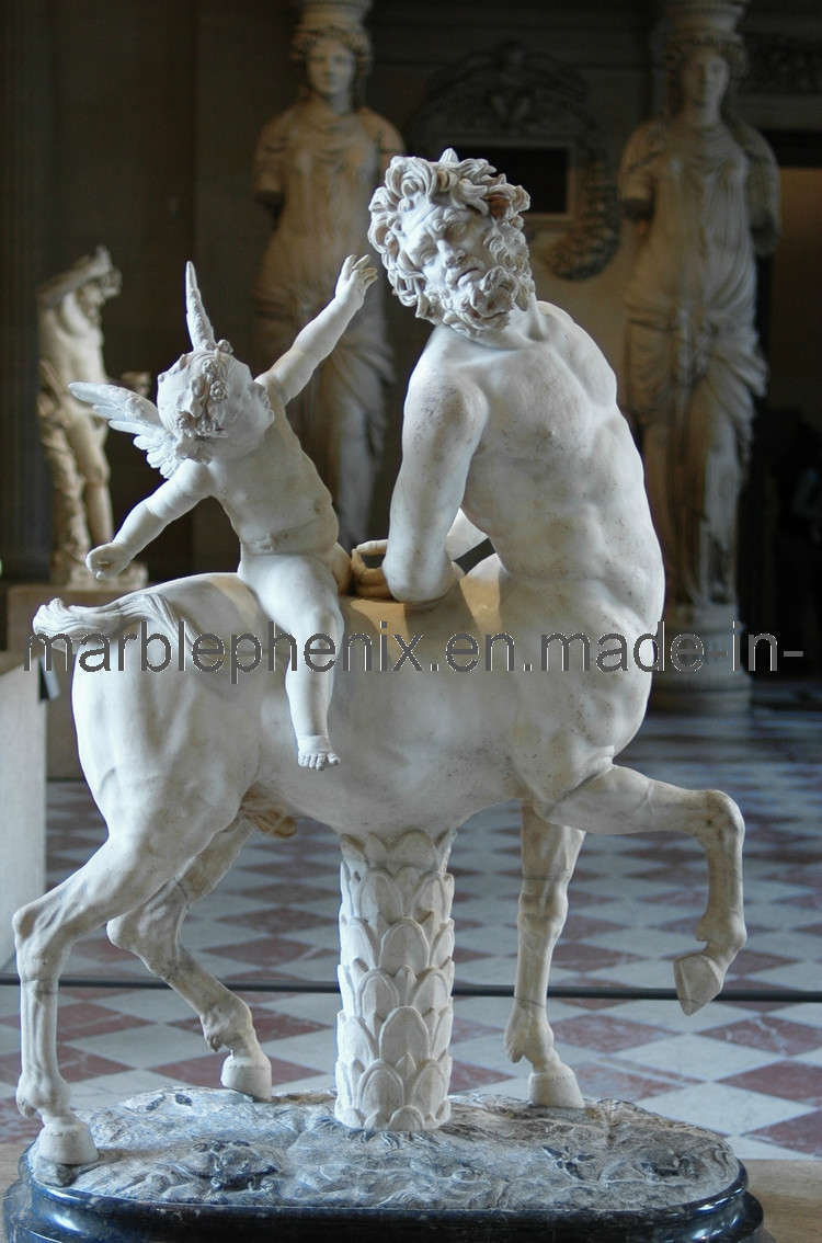 Marble Sculpture/Stone Carving/Marble Statue (BJ-FEIXIANG-0035)