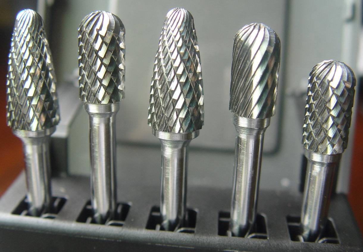 Tungsten Carbide Burrs (A-W)