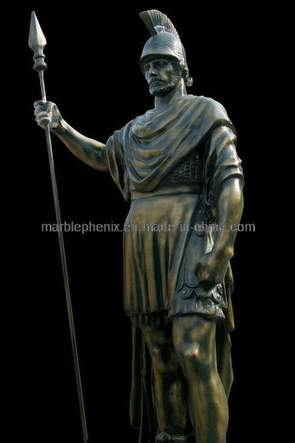 Classical Figure Bronze Sculpture Roman Garden Statue