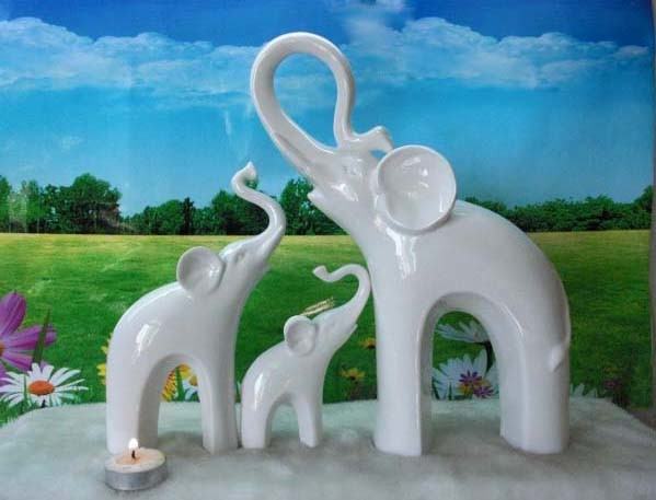 China elephant decorations le40 1051 52 53 china polyresin home accessories polyresin figurine Elephant home decor items