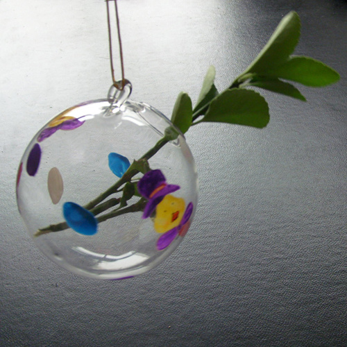 HANGING GLASS BUD VASE Vases Sale