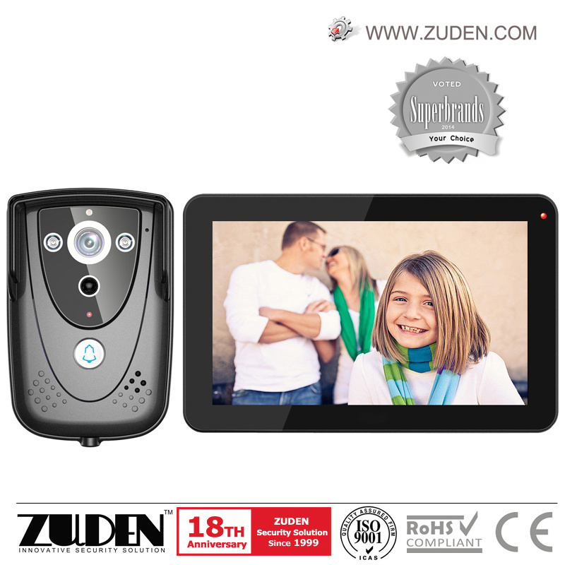 """9"""" Recording Video Door Phone Video Intercom with 8GB Card Included"""