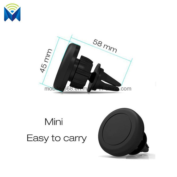 Universal Mini Magnetic Car Mobile Phone Holder in-Car Air Outlet