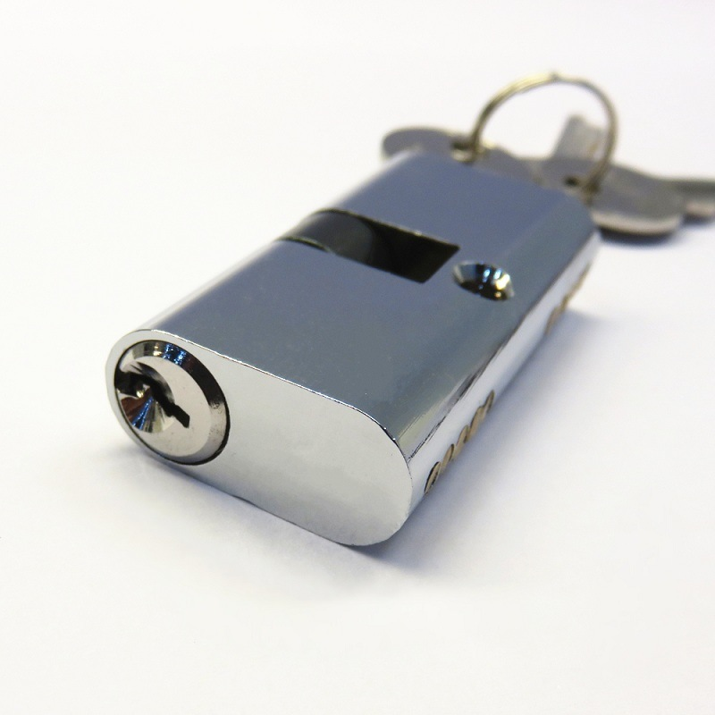 54mm Oval Brass Cylinder Lock