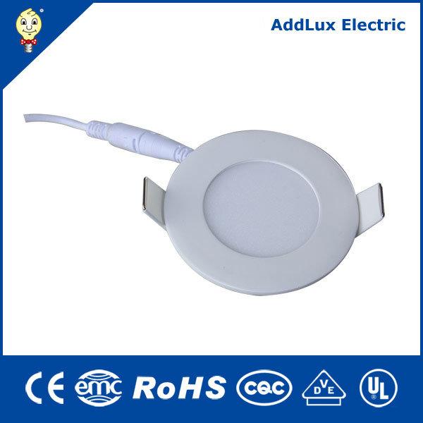 Round 18W Ultra Thin SMD Warm White LED Panel Light