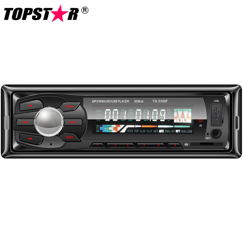 Fixed Panel Car MP3 Player with Pre-AMP Output