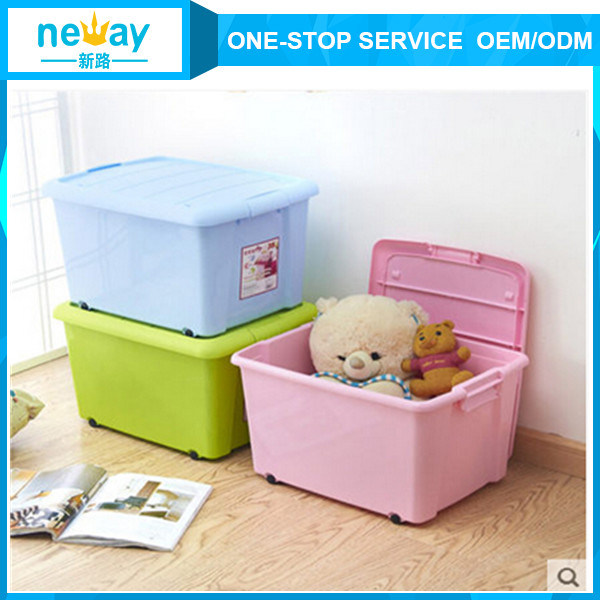2015 New Design Colorful Plastic Storage Box