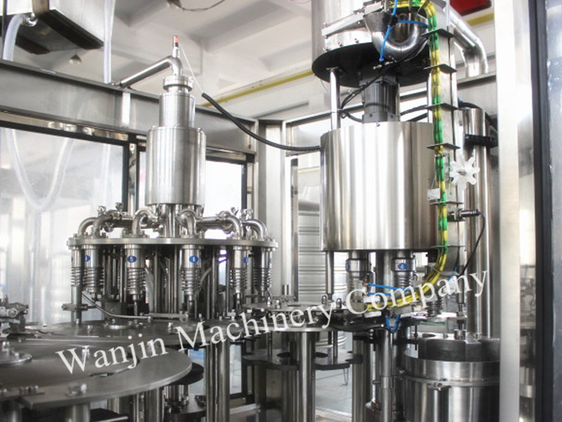 Automatic Hot Juice Tea Making Filling Packing Line