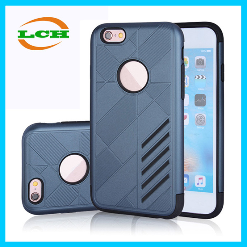 Shockproof Bumper TPU+PC Armor Case for iPhone 7/6s/6 Plus