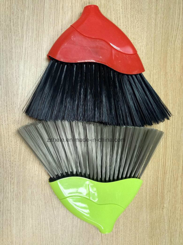 Fashion Design Angle Plastic Broom (HL-A320)