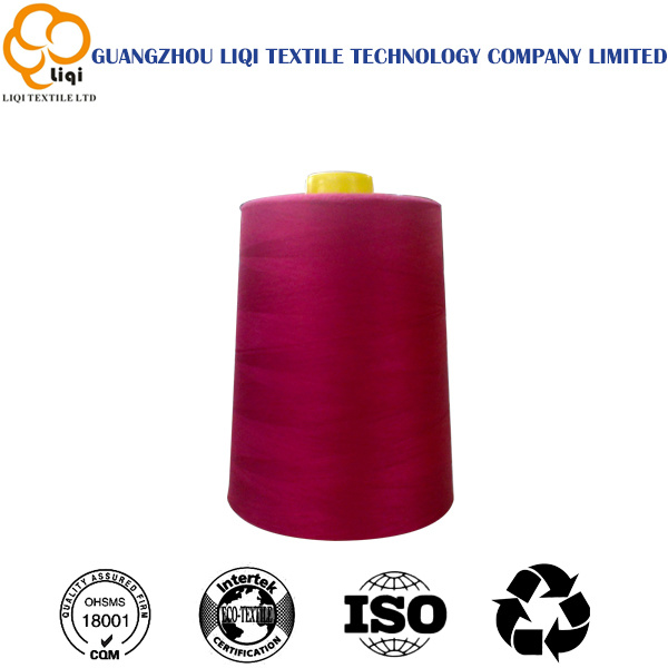 100% Spun Polyester Sewing Thread 40s/3 Uniform Suit Sewing Thread
