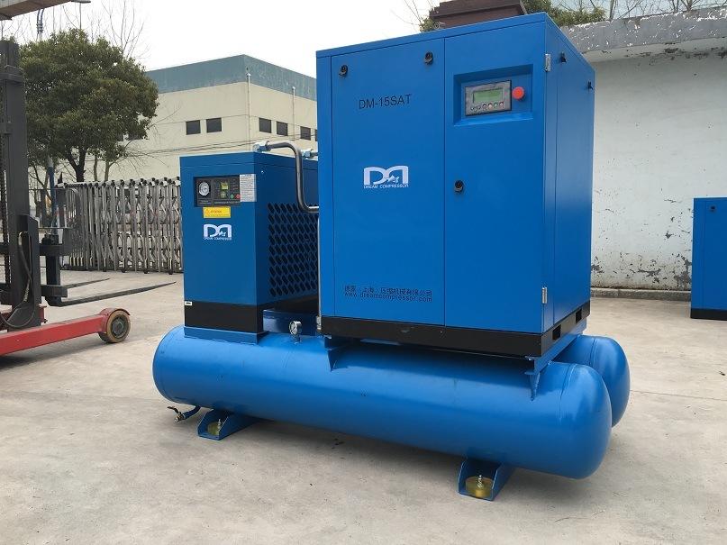 11kw 15kw 22kw 37kw 7bar 8bar 10bar Screw Air Compressor Machine