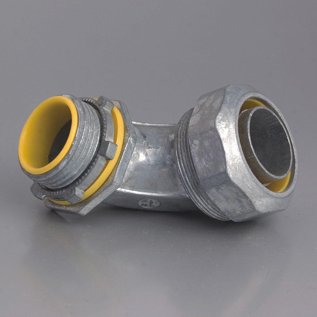Liquid Tight Connector Angle Zinc Alloy