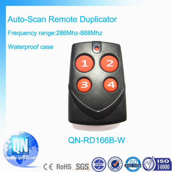 Hot RF Fixed Code Universal Remote Control Qn-Rd166b-W
